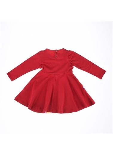 Deco Deco Kız Gökkuşağı Baskı Elbise-Mint Yeşili Deco Kız Gökkuşağı Baskı Elbise-Mint Yeşili Kırmızı